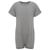KayCey_Adaptive_clothing_for_older_children_with_special_needs_Short_Sleeve_Grey_Front