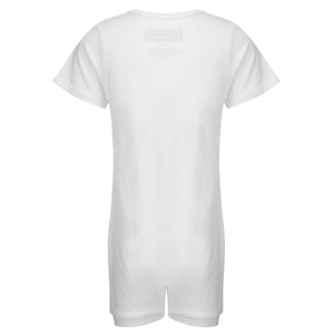 KayCey_Adaptive_clothing_for_older_children_with_special_needs_Short_Sleeve_White_Back