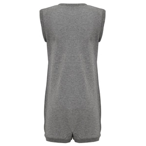 KayCey SUPER SOFT Bodysuit - Sleeveless with Tube Access