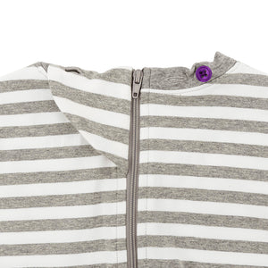 KayCey_adaptive_clothing_for_special_needs_kids_and_older_children_grey_white_stripe_with_zip_fastening