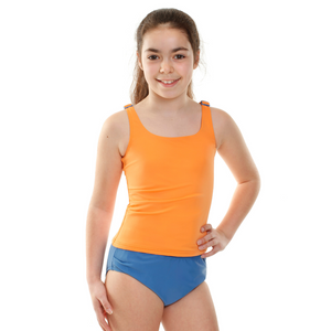 Kesvir incontinence swimwear for girls with special needs tankini girl