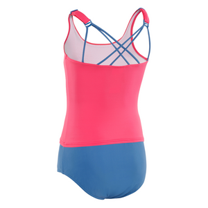 Kesvir incontinence swimwear for girls with special needs tankini back