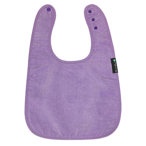 Mum2Mum_Back_Opening_Feeding_Apron_Purple_Front_Special_Needs_Children