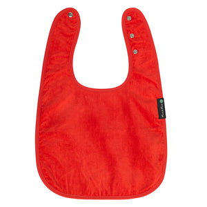 Mum2Mum_Back_Opening_Feeding_Apron_Red_Front_Special_Needs_Children