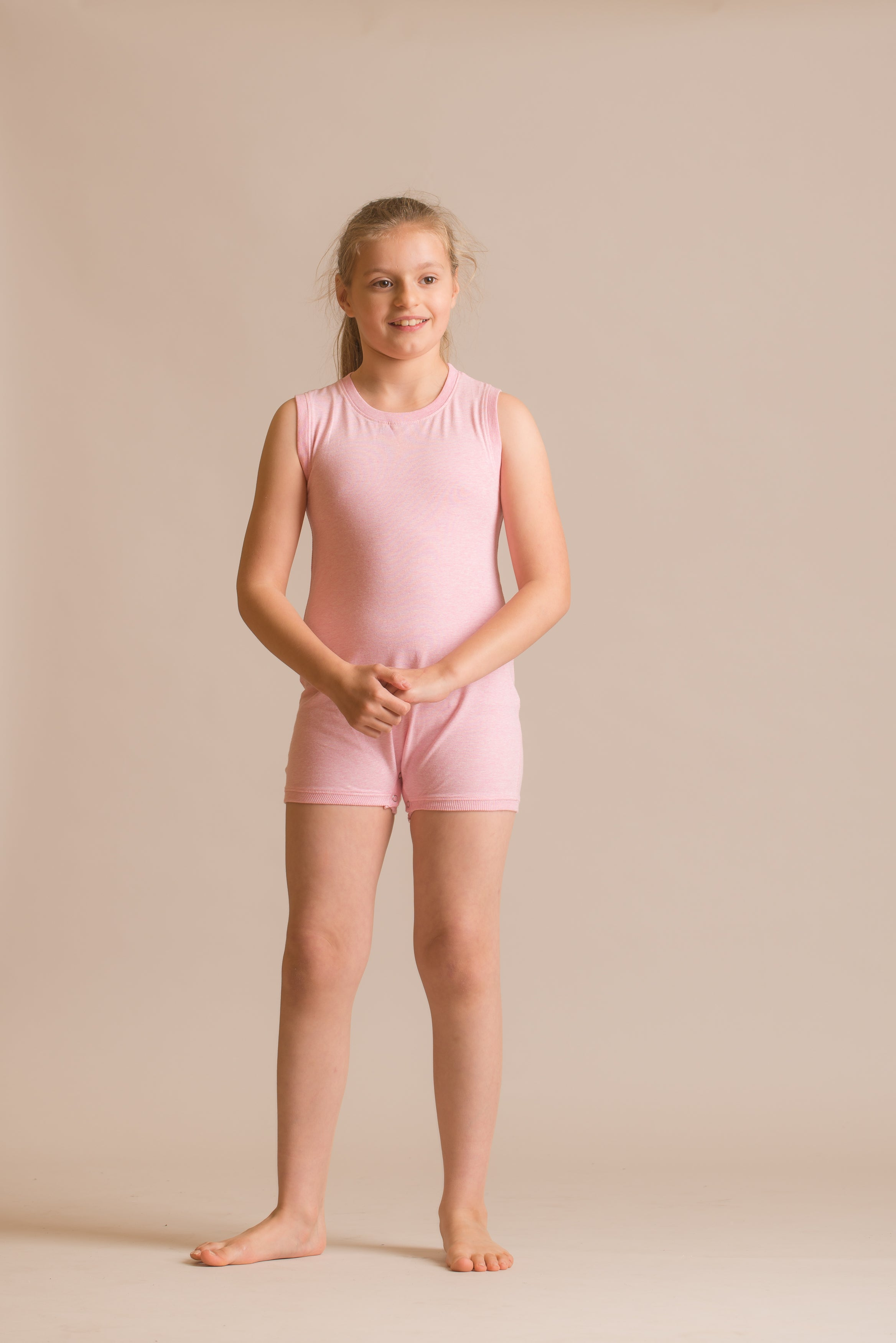 SLEEVELESS Bodysuit for Boys /& Girls by KayCey Special Needs Clothing w// TUBE ACCESS for Older Children 2-16 yrs old
