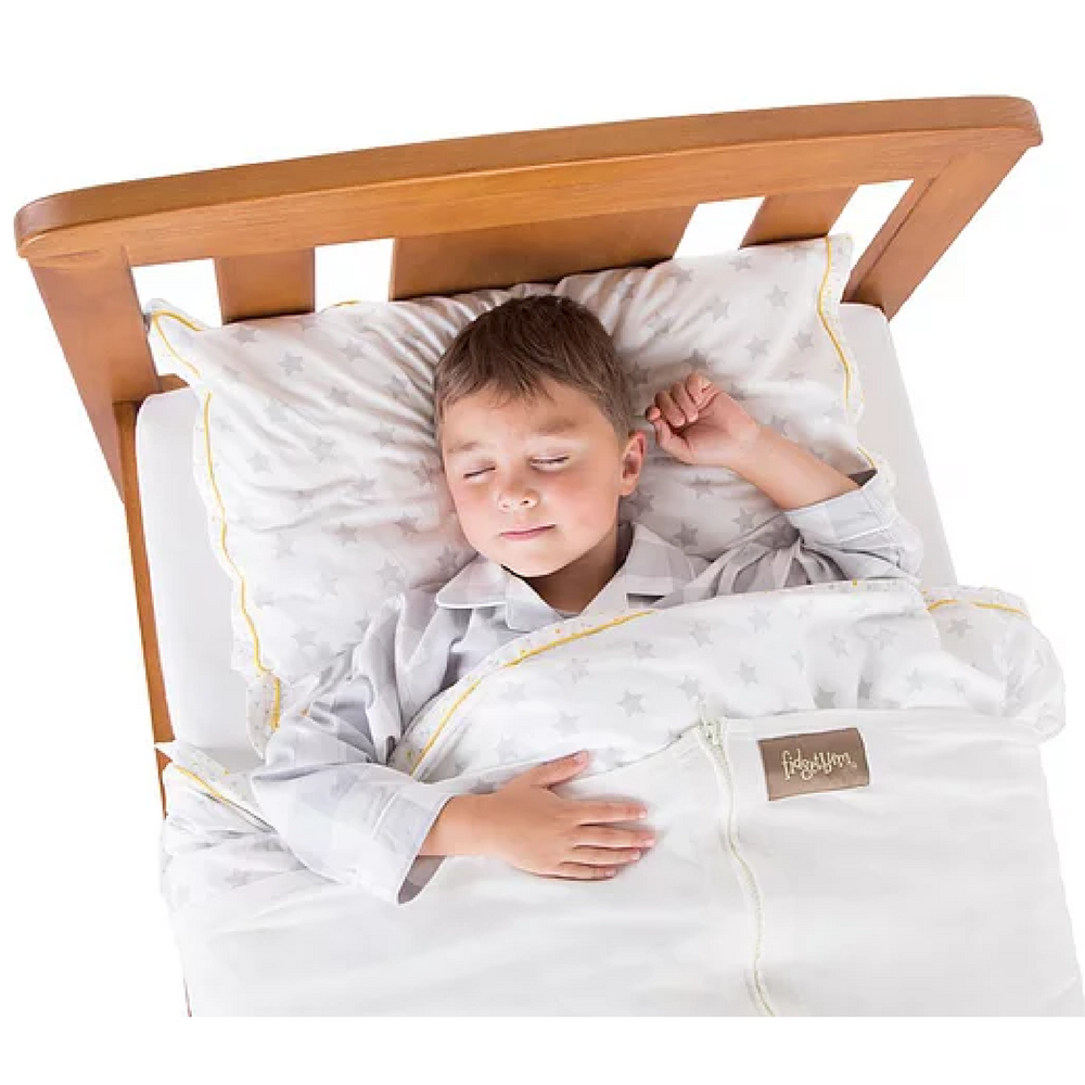 Fidgetbum_4_way_stretch_sleep_aid_bedding_for_special_needs_children_toddler_single_bed_zip