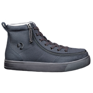 billy_footwear_black_to_floor_high_top_canvas_shoes_for_men_adults_side_zipper_view