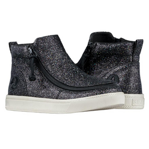 billy_footwear_adaptive_shoes_for_children_special_kids_company_billy_kids_mid_top_black_glitter_shoes_front