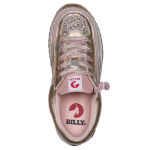 billy_footwear_adaptive_shoes_for_children_special_kids_company_billy_kids_rose_gold_metallic_trainers_top.