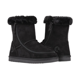 Billy Footwear (Kids) - Faux Suede Cosy Boots