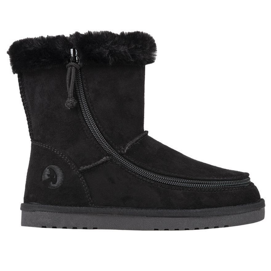Billy Footwear (Kids) - Faux Suede Cosy Boots*