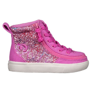 billy_footwear_pink_glitter_high_top_canvas_shoes_for_toddlers_and_kids_with_fully_opening_zip