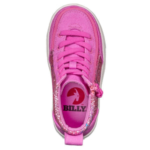 billy_footwear_pink_glitter_high_top_canvas_shoes_for_toddlers_and_kids_with_lace_up_effect