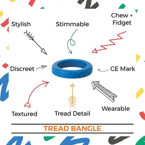 Chewigem (Adults) - Chewable Tread Bangle