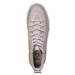 billy_footwear_grey_jersey_high_top_chambray_linen_shoes_for_men_adults_lace_up