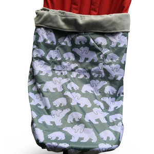 BundleBean_wheelchair_cosy_cover_childrens_polar_bear_fleece_lined_waterproof_universal_fit