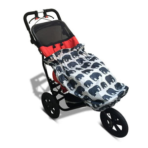 BundleBean_kids_boys_girls_wheelchair_raincover_elephant_universal_fit_waterproof_soft_cover