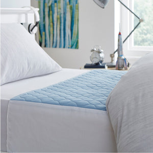 Kylie_bed_protection_sheets_washable_bed_pad_absorbent_incontinence_reusable_blue