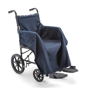 nicosy_fleece_cover_for_wheelchair_navy_cover_fitted_to_wheelchair