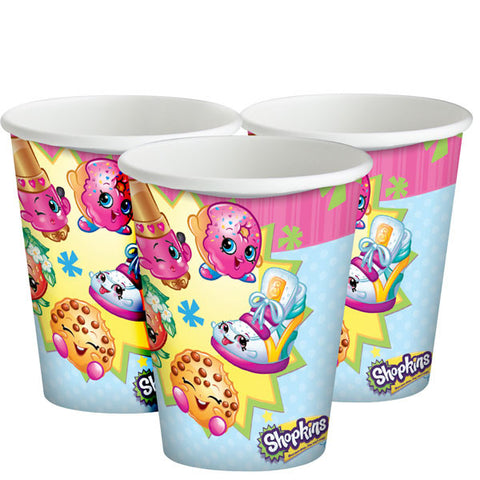 Shopkins Paper Party Cups