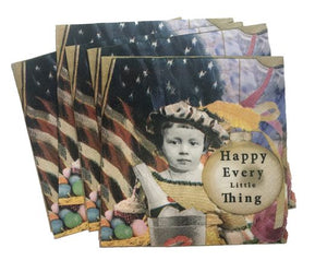 Erin Smith Art - Every Little Thing Cocktail Napkin