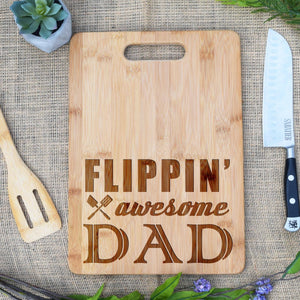 Flippin Awesome Dad Rectangular Board