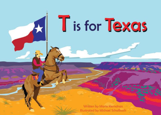 Book - T is for Texas
