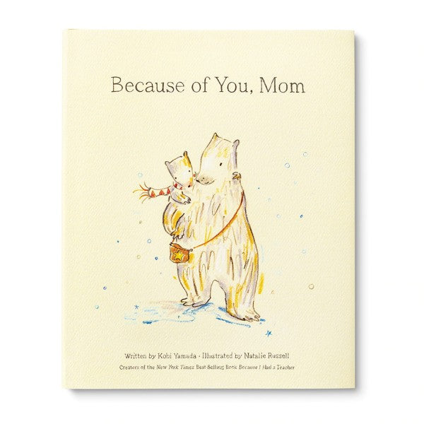 Because of You, Mom Book