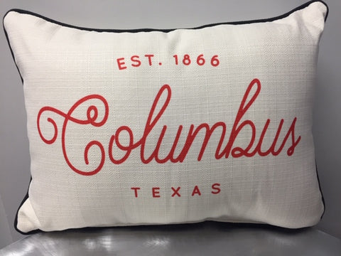Est. Columbus Pillow