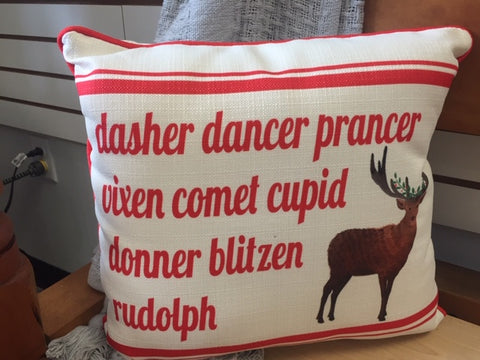 Dasher Pillow