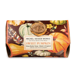 Sweet Pumpkin Large Bath Soap Bar