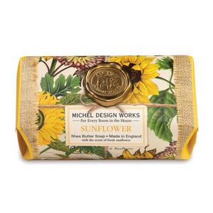 Sunflower Large Bath Soap Bar