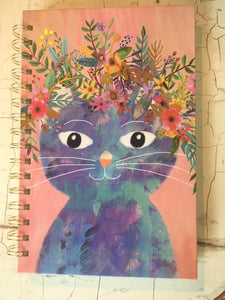 Spiral Notebook - Fancy Cat