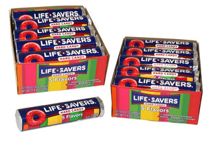 Lifesavers Hard Candy 5 Flavors