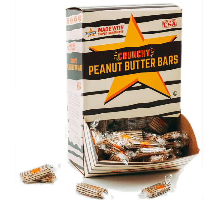Peanut Butter Bars Bite Size