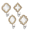 Mirrored Beaded Edge Votive Wall Sconce