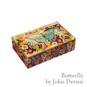 Chocolate - Jahn Derian Butterfly Collector Tin