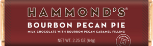 Hammond's Bourbon Pecan Pie Milk Chocolate Candy Bar