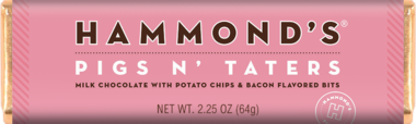 Hammond's Pigs N' Taters Milk Chocolate Candy Bar