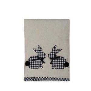 Gingham Easter Bunny Table Runner