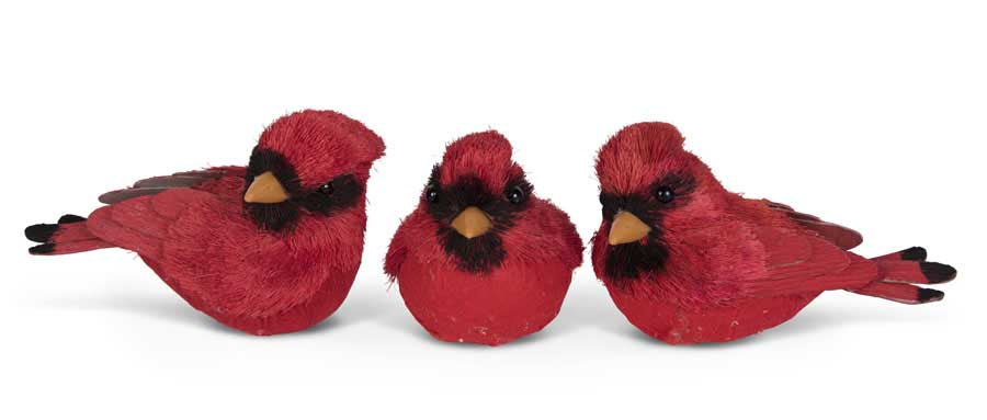 Red Bird Ornaments
