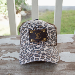 Cheetah Patch Hat