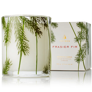 Frasier Fir Candle, Pine Needle Design