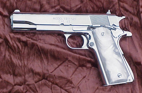 Shiny 1911 - Perfect for a concealed carry woman (or man)