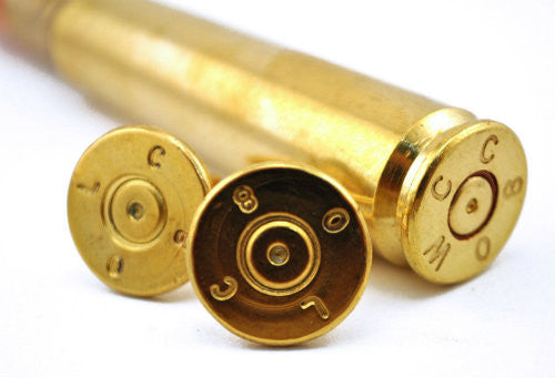 Bullet Accessories - .50 Caliber Cufflinks