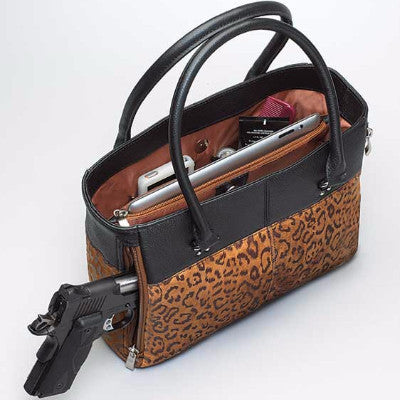 Leopard Concealed Carry Tote