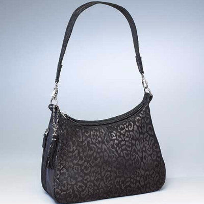 Leopard Hobo Handbag - Concealed Carry