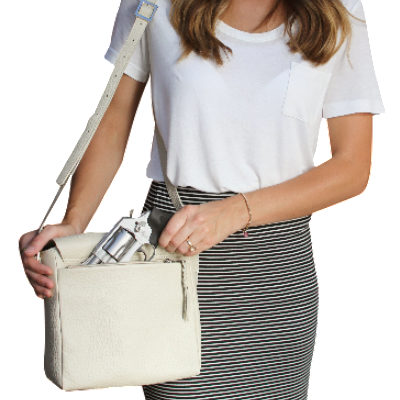 Cubic Crossbody Handbag