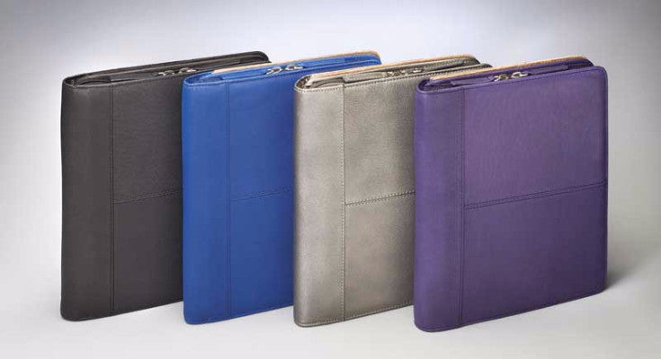 Leather Concealed Carry iPad Case Colors