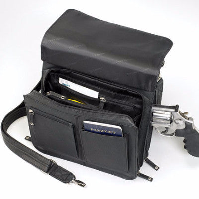 Concealed Carry Jennifer Traveler Bag Open Flap